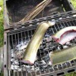Anguille au barbecue