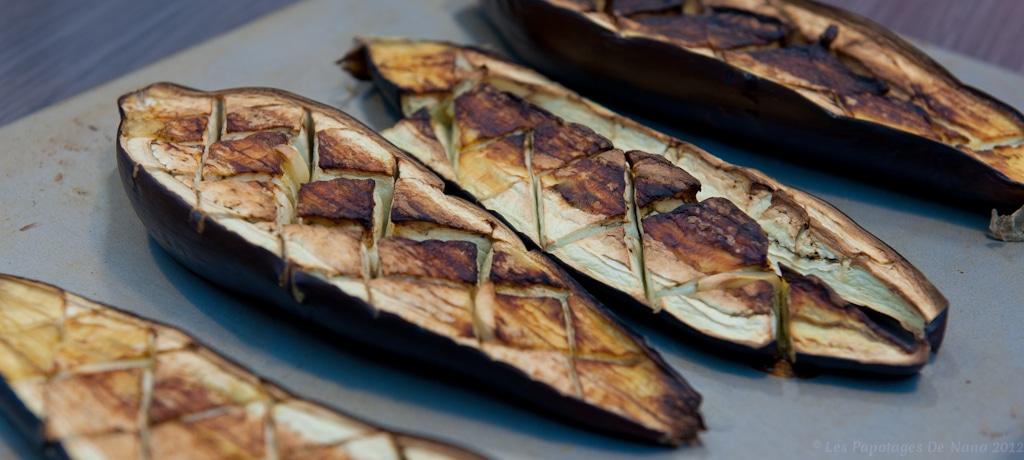 aubergine au barbecue