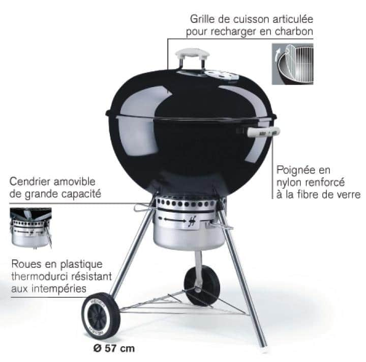 avis barbecue weber