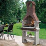 Barbecu en pierre