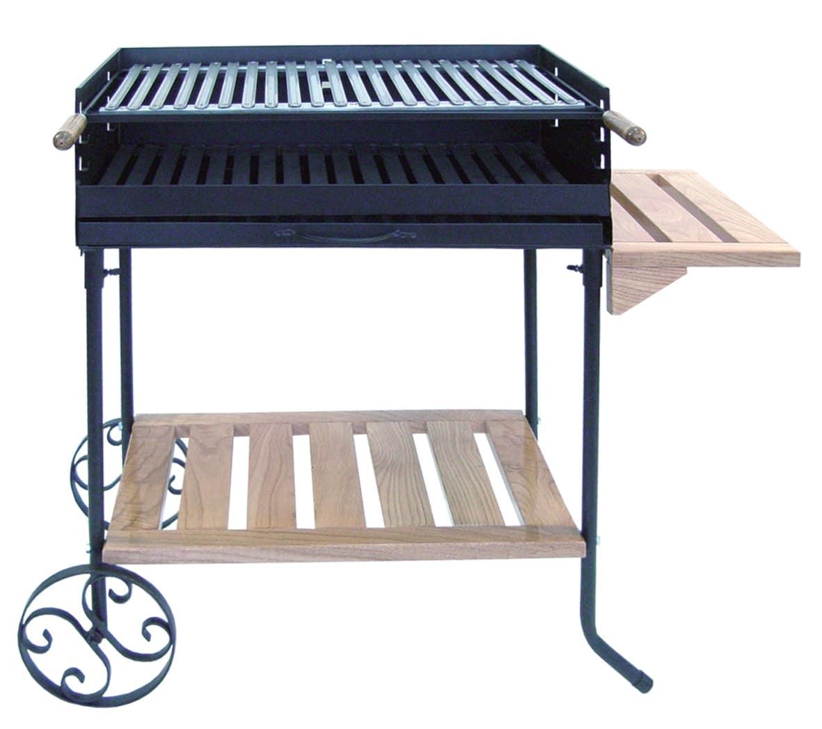 barbecue a bois exterieur