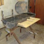 Barbecue chauffe eau
