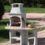 Barbecue en beton