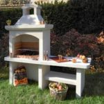 Barbecue en beton cellulaire