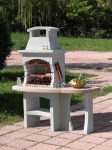 barbecue en beton