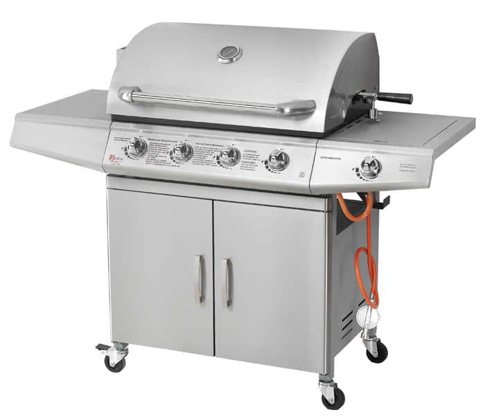 barbecue gaz inox