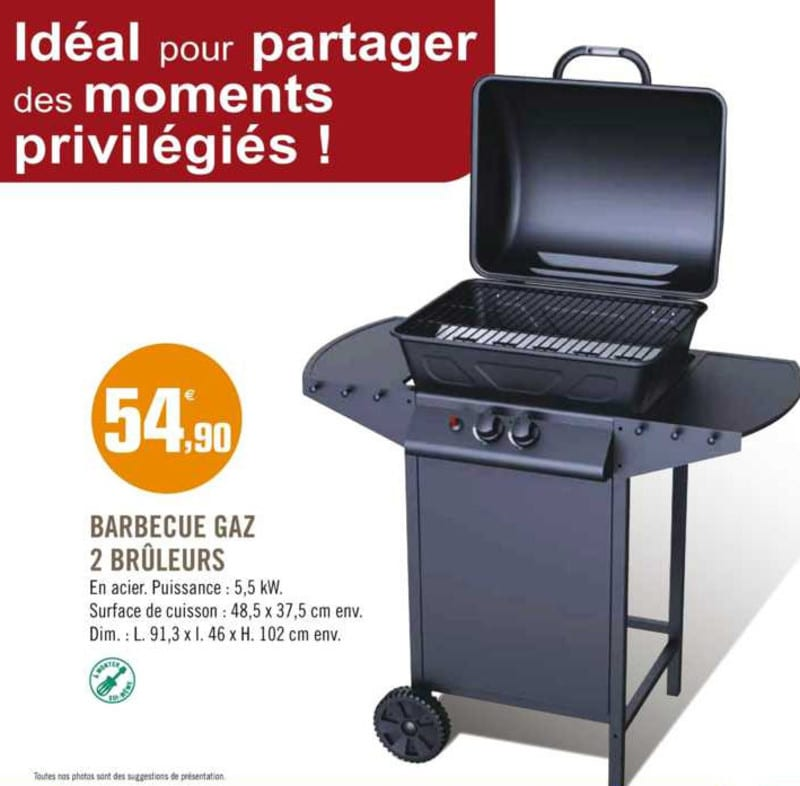 Barbecue Leclerc Charbon