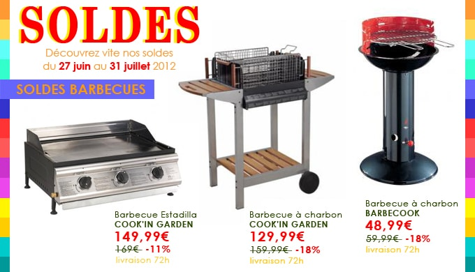 barbecue solde