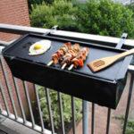 Barbecue sur balcon