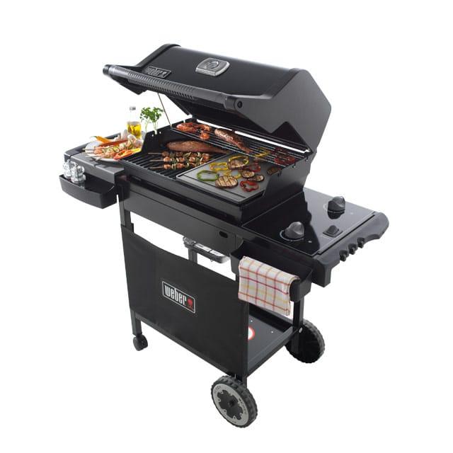 barbecue weber gaz avec plancha