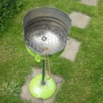 Bouteille de gaz barbecue