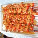 Brochette crevette barbecue