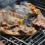 Cote d agneau barbecue