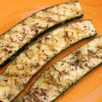 Courgettes barbecue