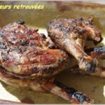 Cuisse de canard au barbecue