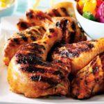 Cuisse de poulet au barbecue