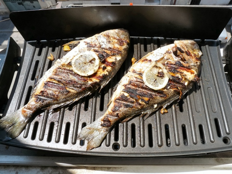 daurade barbecue