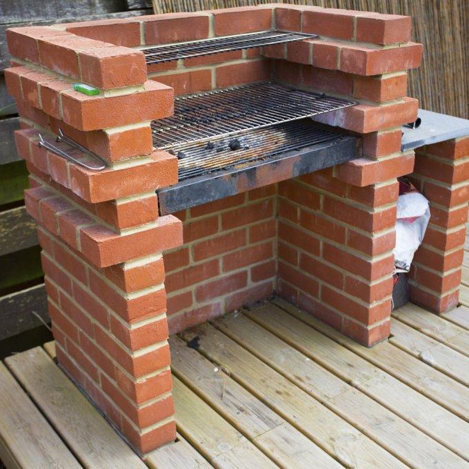 fabriquer un barbecue en brique