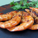 Gambas barbecue