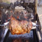 Gigot agneau barbecue