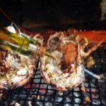 Homard grillé barbecue