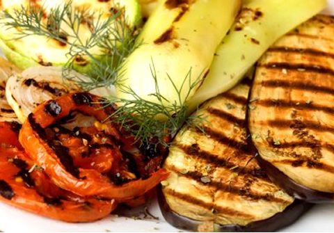 légumes grillés barbecue