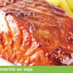 Marinade poisson barbecue