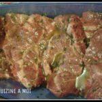 Marinade pour cote de porc au barbecue
