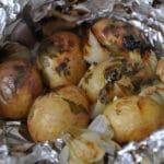 Pommes de terre au barbecue