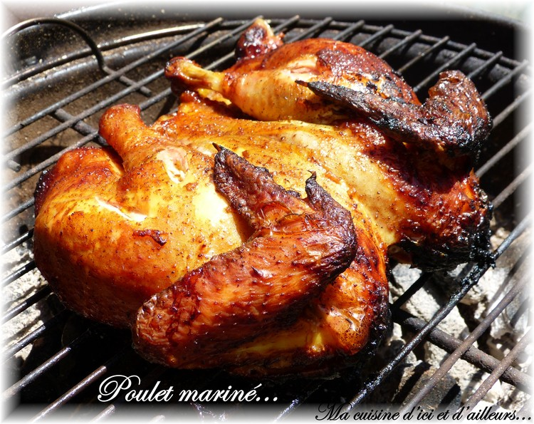 poulet barbecue