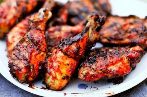 recette poulet mariné barbecue