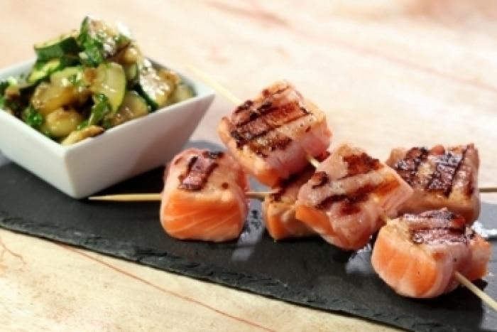 recette saumon barbecue