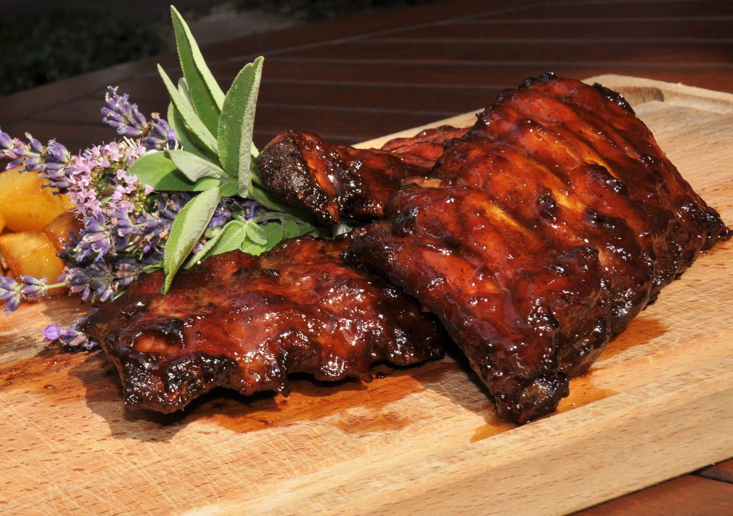recette travers de porc au barbecue