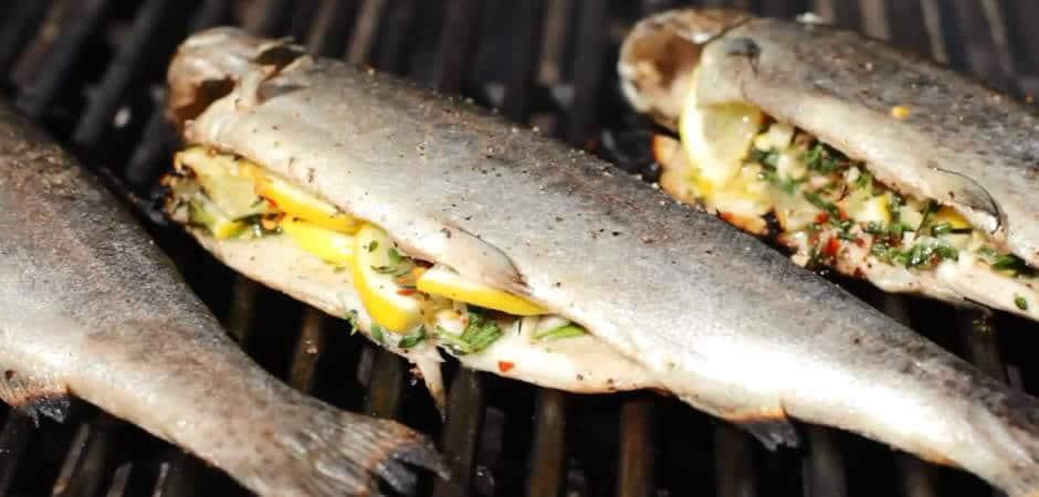 recette truite barbecue