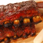 Ribs au barbecue