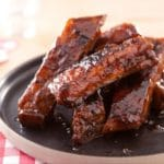Ribs de porc barbecue