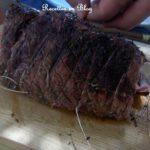 Roti de boeuf au barbecue